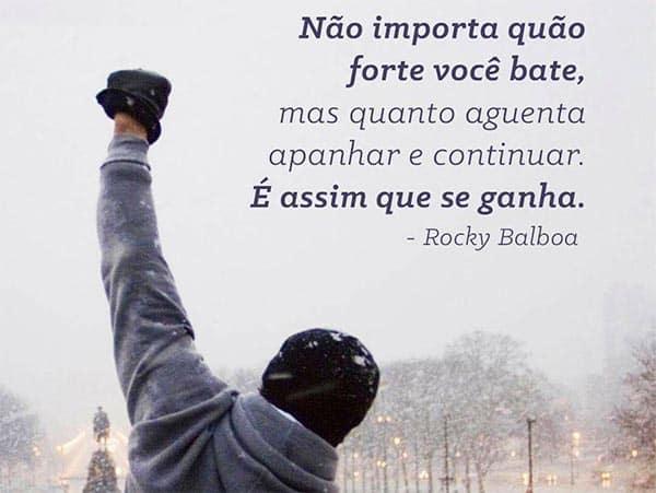 Frase motivacional de Rocky Balboa