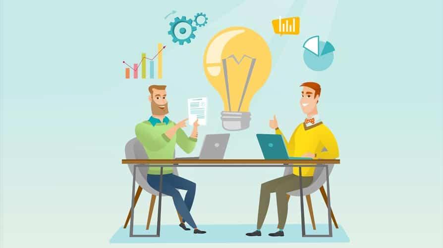 networking promovendo a criatividade