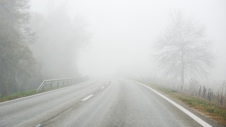 empreender é caminhar por uma estrada nublada