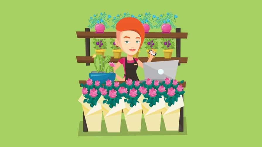pop up store florista