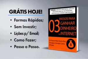 eBook Grátis: 3 Passos Para Ganhar Dinheiro na Internet